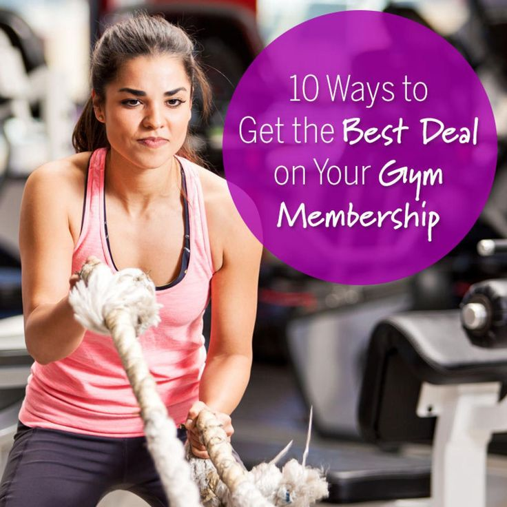No one wants her wallet to slim down along with her waistline. But you don't need to spill a hefty sum on your gym membership just because you missed all the New Year's promotions. Here are 10 ways to score a sweet deal from your gym—courtesy of Andrea Woroch, a nationally recognized consumer and money-saving expert, and Eric Casaburi, CEO and founder of Retro Fitness. - Fitnessmagazine.com
