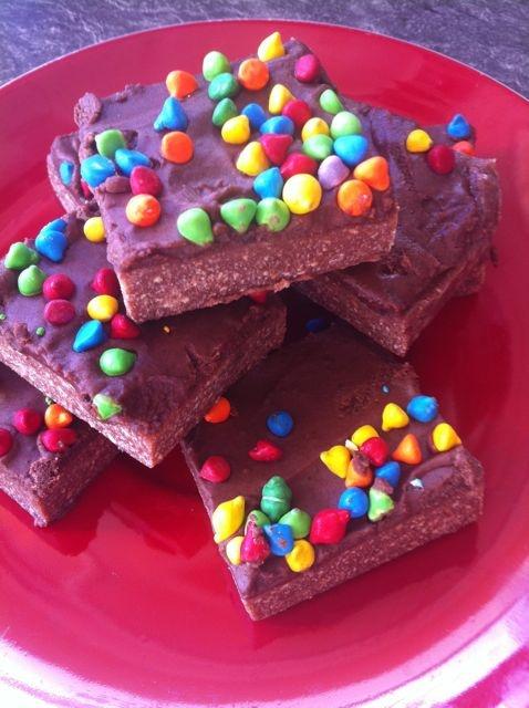 The Home She Made: No bake Chocolate hedgehog recipe
