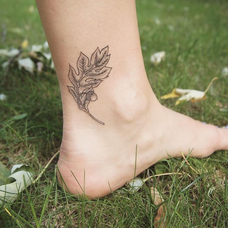 Oak leaf - Tattoo People
