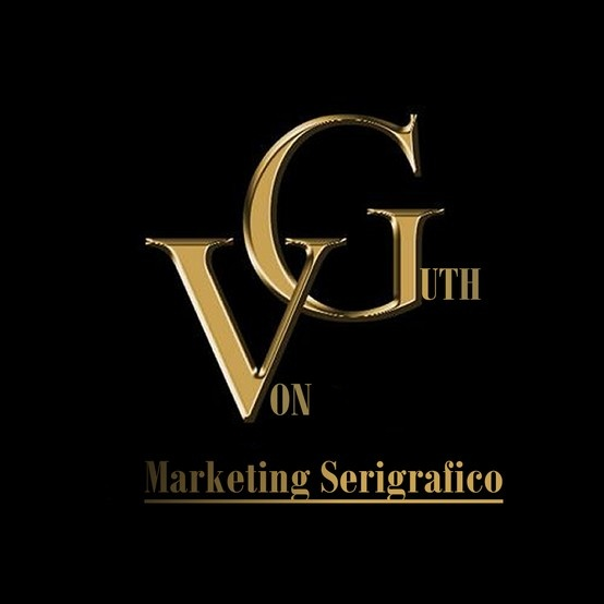 LOGO PARA EMPRESA DE SERIGRAFIA VON GUTH MARKETING SERIGRAFICO BY DESIGN CREATIVE
