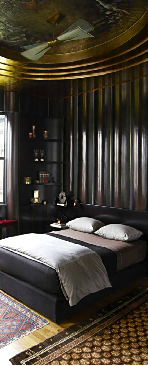 Opulent room with masculine feel custom bedding available for Opulent bedrooms