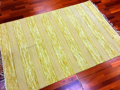 Rag rugs - Juni (yellow/beige)