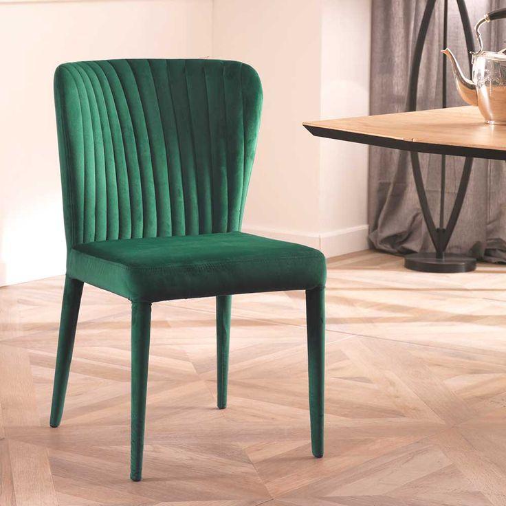 Die besten 25+ Esszimmerstuhl set Ideen auf Pinterest Farbige - esszimmer braun grun
