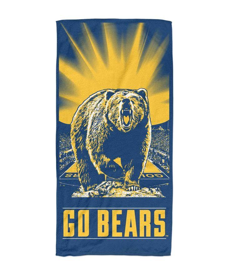 Cal Golden Bears Beach Towel 30x60