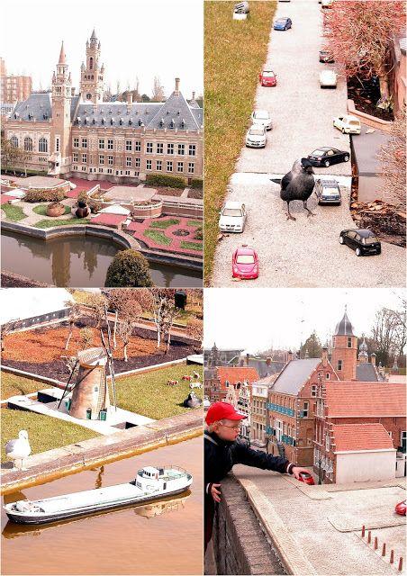 Holandsko, Madurodam - svět miniatur (Lucie Living)