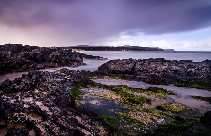 """Culdaff Beach, Donegal, Ireland - Culdaff Beach just before the rain arrived to interrupt a sunny day!  Please visit my <a href=""""https://www.facebook.com/kathrynconwayphotography"""">Facebook Page</a>, <a href=""""https://instagram.com/conwaykathryn/"""">Instagram</a> or <a href=""""https://twitter.com/kcgrasshopper/"""">Twitter</a>"""