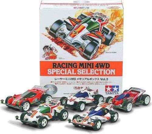 Tamiya Super Mini 4WD Racing Special Selection Memorial Box Vol 3 1/32 5cars 578