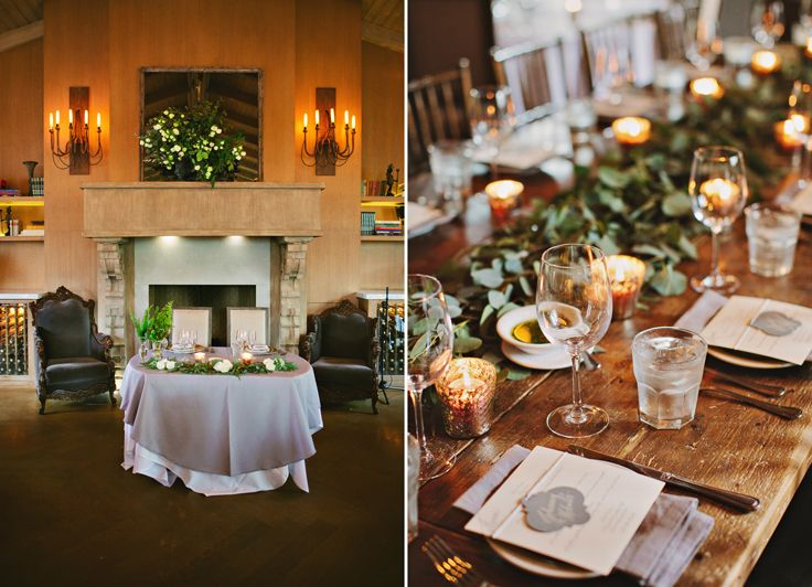 The Villa Woodland Hills Ca See More Wedding Reception Table Settings Photo By Wisteria Photography Fls Poppyhill Flowers