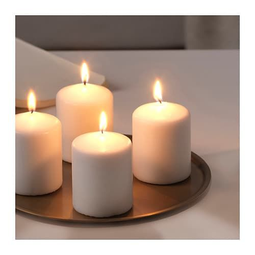 Kerzen Ikea.Lindrande Kerzen Dekoschale Goldfarben In 2019 Ikea