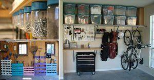 22 idées et astuces pour avoir un garage bien organisé