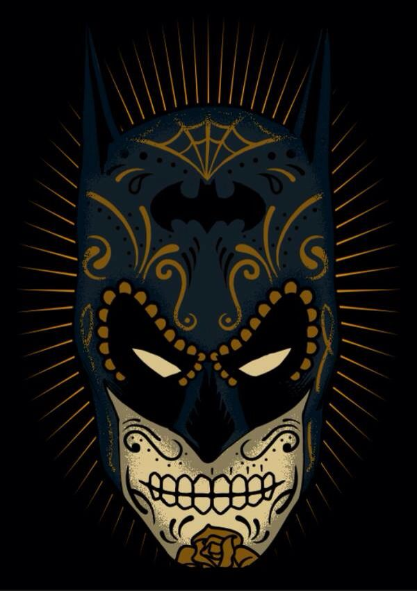 Does anyone have a source for this???  Batman Dia de los Muertos // Day of the Dead