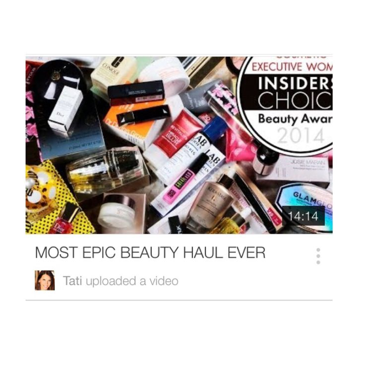 Check out this new video from Glamlifeguru aka Tati on YouTube! This is an epic giveaway of some of the best products out there, and I love so many of these already. http://youtu.be/7Ag_iIeTrBE