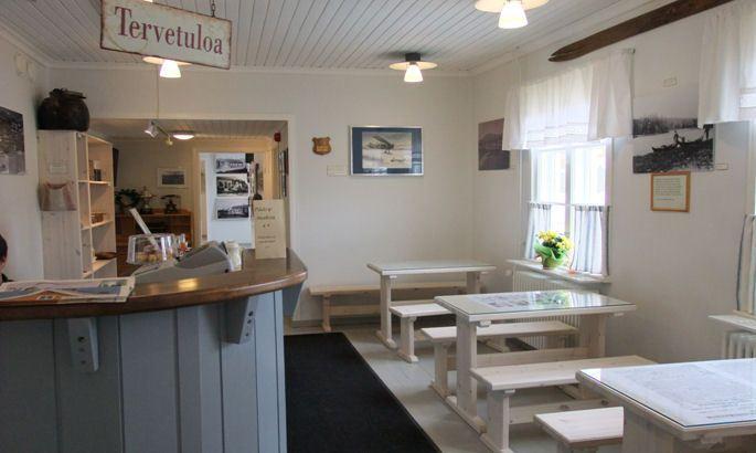 Sallan sota- ja jälleenrakennusajan museon kahvila