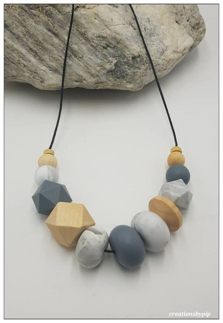 Excited to share the latest addition to my #etsy shop: Grey Marble Wood Bead Necklace, Marble Jewellery, Long Necklace, Wood Jewelry, Gift under 30, Beaded Necklace #jewelry #necklace #marblenecklace #longnecklace https://etsy.me/2ELCizN