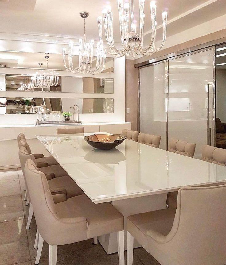 """425 curtidas, 3 comentários - Home Luxo®   Katia Lopes (@homeluxo) no Instagram: """"Detalhes sala de jantar by Max Mello Arquiteto  @_decor4home #homedecor #design #homeadore…"""""""