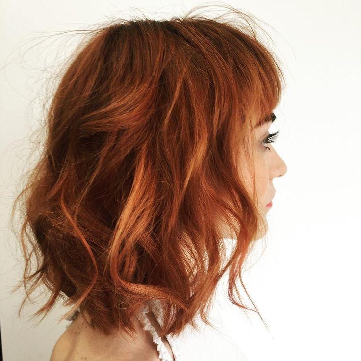 cool Оригинальное рыжее мелирование на рыжие волосы (50 фото) — Добавь прическе огня