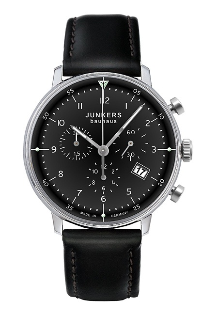 Junkers Watch 6086-2 :: Quartz Watch (Ronda 5030.D) Chronograph with Date
