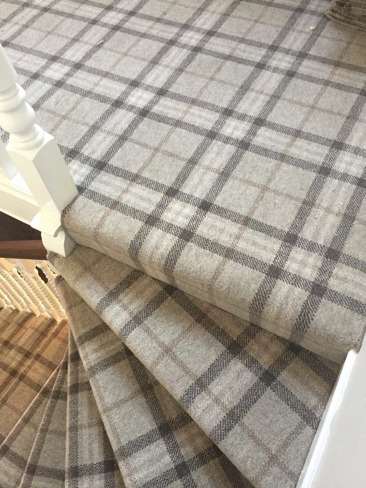 Staircase Tartan Masterfitting Carpets Flooring Home