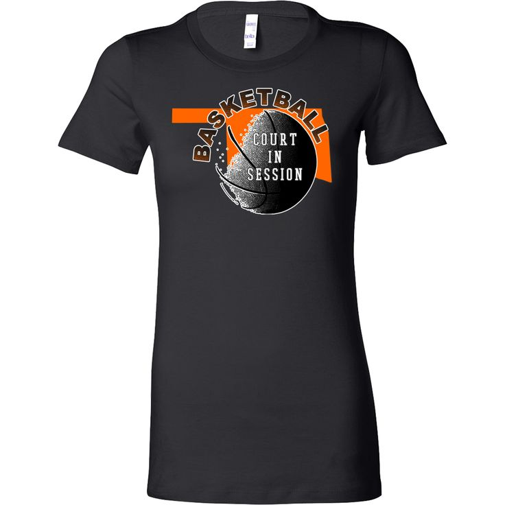 OSU Basketball Court In Session Women's T-shirt Slim Fit