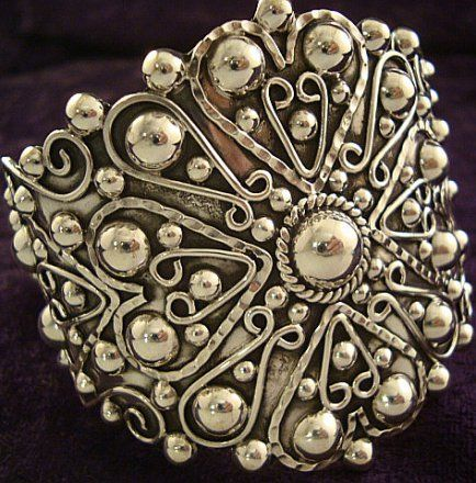Love, Love, Love  Taxco Silver jewelry. The old stuff is the best.