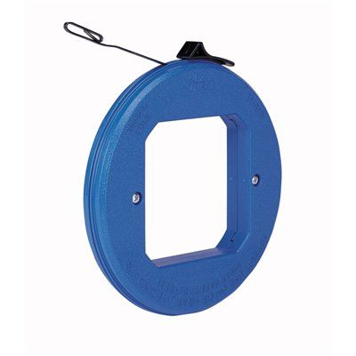 IDEAL 50-ft Blued Steel Thumb Winder