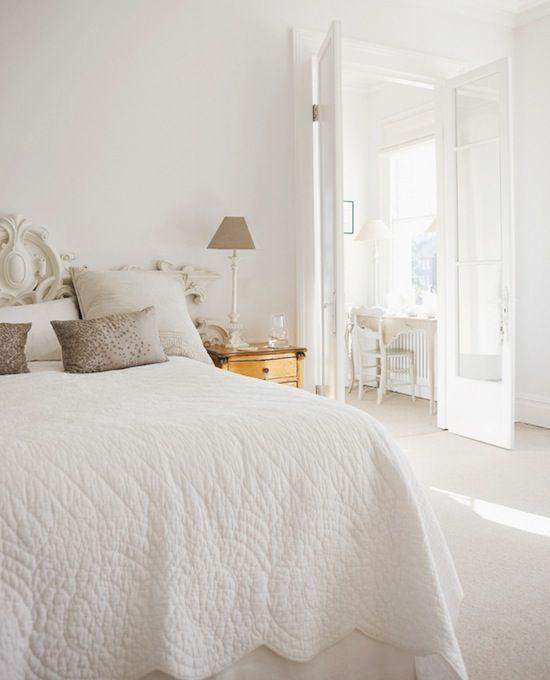 101 besten Wohnen in Weiß Bilder auf Pinterest Wohnen, Sehen und - schlafzimmer creme wei