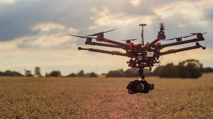 An evening flight over a wheat crop. The S900 flying a Panasonic GH4.