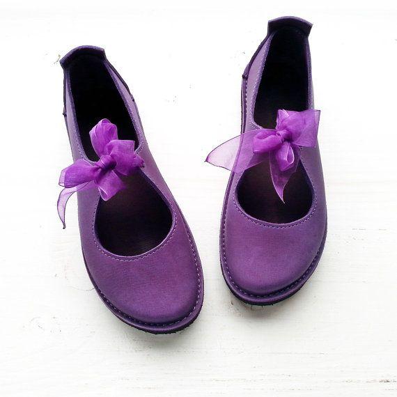 Luna Lovegood Handmade Leather Woodland Shoes LUNA by Fairysteps