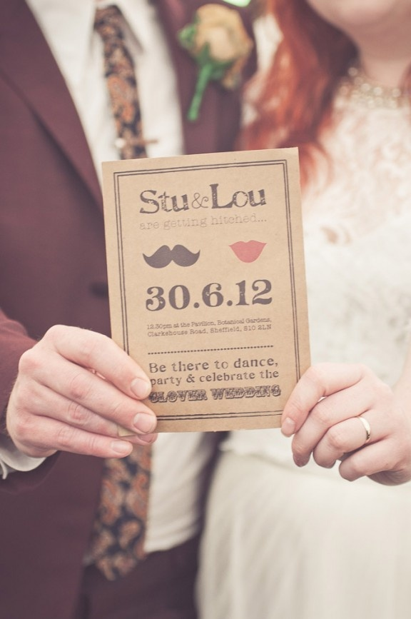 Isn't that an awesome wedding invitation to get? #wedding #inivitation