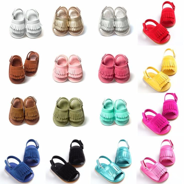 Cool Baby Infant Toddler Sandals Summer Leisure Fashion Baby Girls Sneaker Sandals For Children PU Tassel Shoes - $9.39 - Buy it Now!