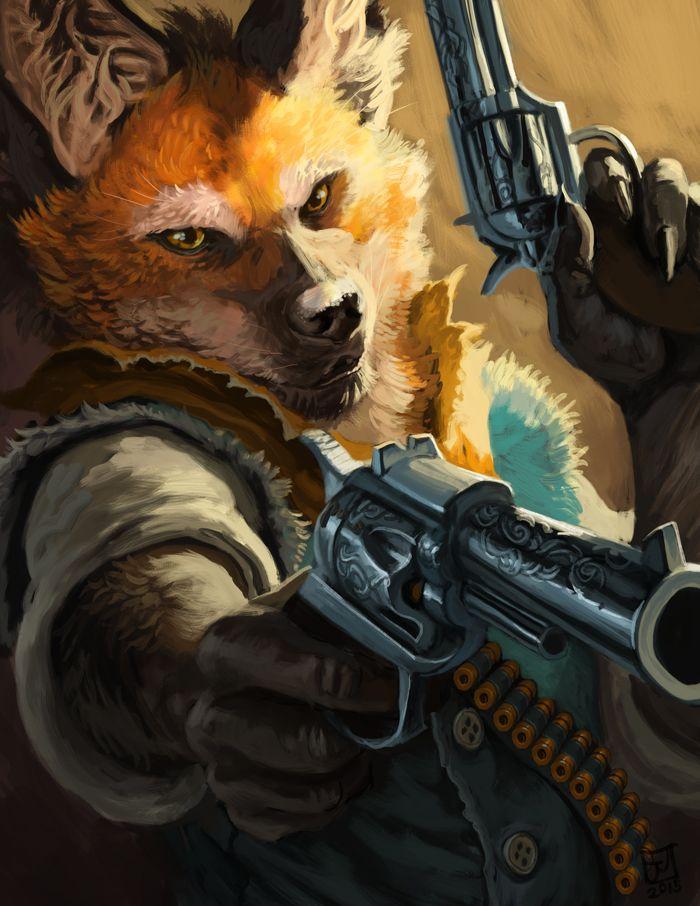 Star Wars Winter Fox Drawing