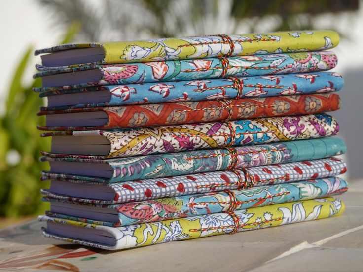 Indian Fabric Journals
