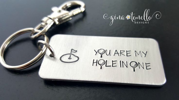 Golf Gifts for Men, Golf Keychain, Husband Gift, Wife to Husband Gift, Gifts for Husband, Anniversary Gifts for Husband, Boyfriend Gift by ginatonellodesigns on Etsy https://www.etsy.com/listing/475711356/golf-gifts-for-men-golf-keychain-husband