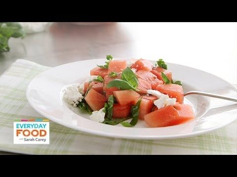Watermelon and Feta Salad - Everyday Food with Sarah Carey