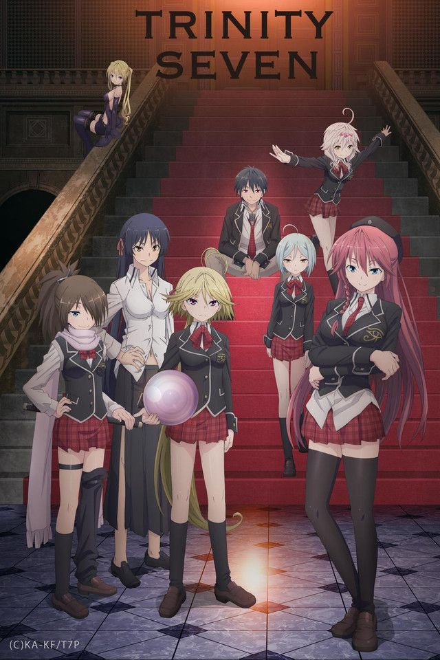 Fall 2014, Trinity Seven: Trashy, pervy & kind of cute.