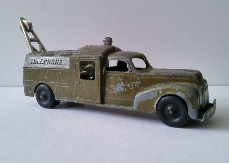 Vintage 1950s Toy Metal Hubley Bell Telephone Truck Model 478 with Crank As Is | Toys & Hobbies, Diecast & Toy Vehicles, Cars, Trucks & Vans | eBay!