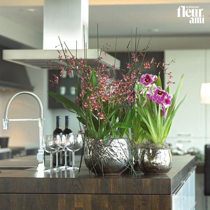 LUXURY table top planter by fleur ami ● Tischgefäß von fleur ami