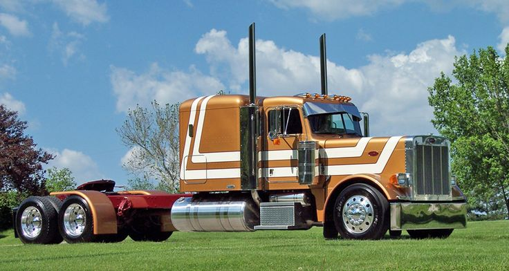 359 PETERBILT Factory Paint Schemes | The Latest Project from Truck Builder Clint Moore