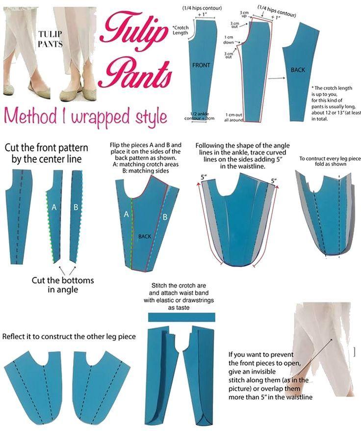 Los Tulip pants son un tipo de pantalón de estilo oriental, muy elegante que ayuda a estilizar la figura femenina. Son muy elegantes, vaporosos y frescos y se pueden llevar de día o de noche, de fo…