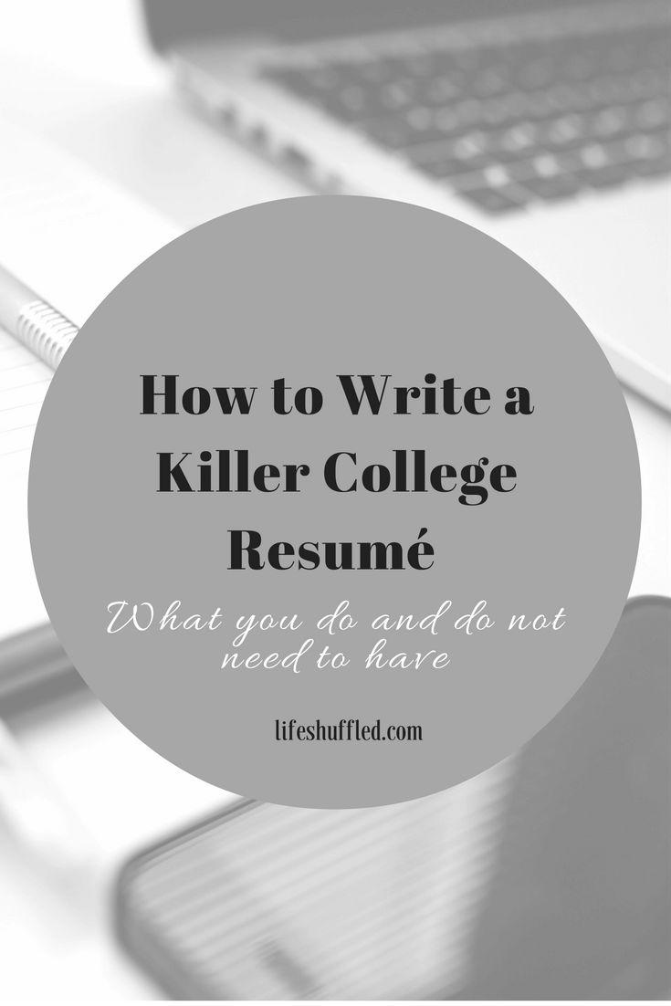 best 25  college resume ideas on pinterest