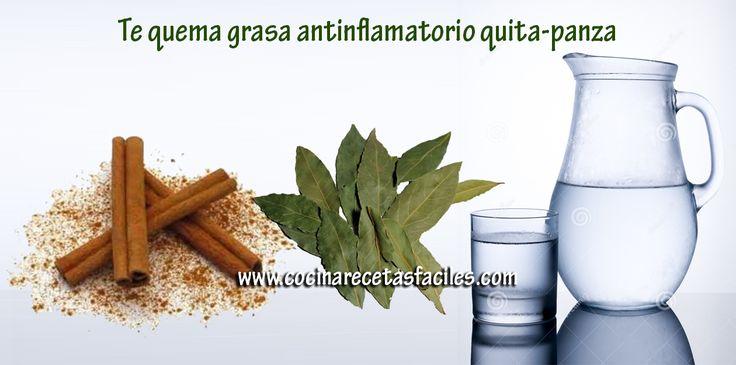 Te quema grasa antinflamatorio quita-panza