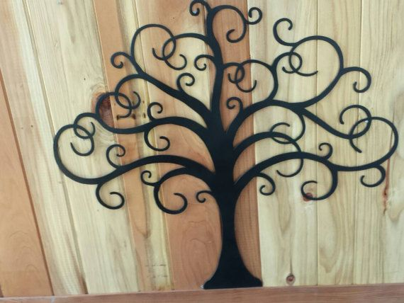 This Tree of Life metal wall art is a beautiful addition to your families home! Our metal tree wall art is great for rustic or modern home