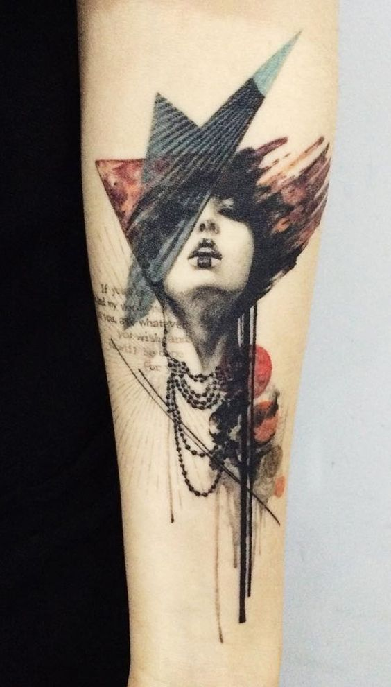 344f005353b 40 Incredible Artistic Tattoo Designs | tattoos | Tattoos, Abstract ...