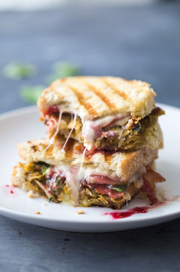 This Loaded Turkey Panini is perfect for all your Thanksgiving leftovers! Pack them into this sandwich and grill to golden brown perfection.