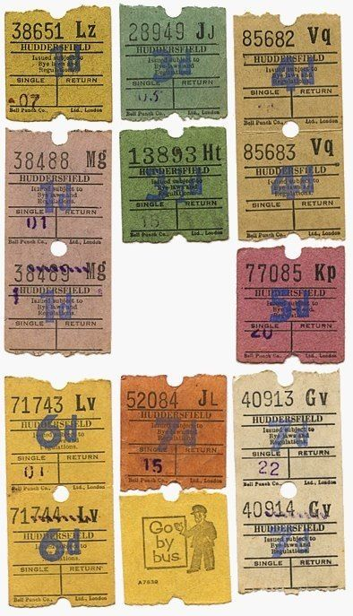 (theme) These bus tickets remind me of the bus ticket Stanely bought for Blanche on her birthday. The theme is desperation in this scene of the play because Stanely is willing to go as far as kicking Blanche out and providing her with a bus ticket to make her leave his home. [Act I scene 8 pg 111]