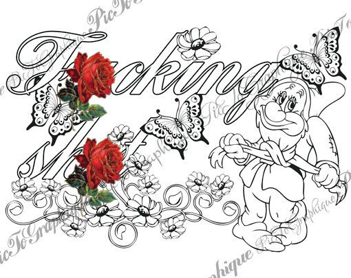 15 Best Swear Word Coloring Pages Images On Pinterest