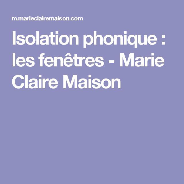 Fenetre isolation phonique travaux disolation dans le var for Vitrage phonique 10 16 4