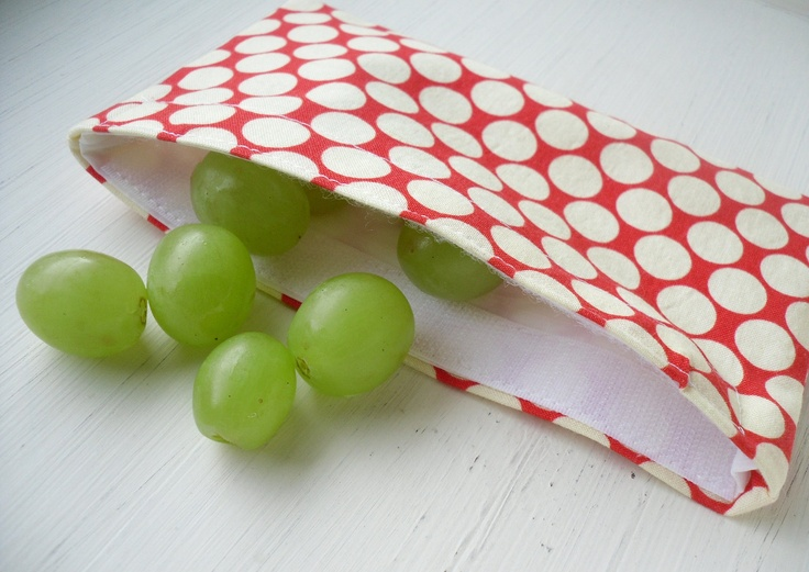 DIY ePattern Tutorial for Reusable Snack and Sandwich Bags - Great for School…