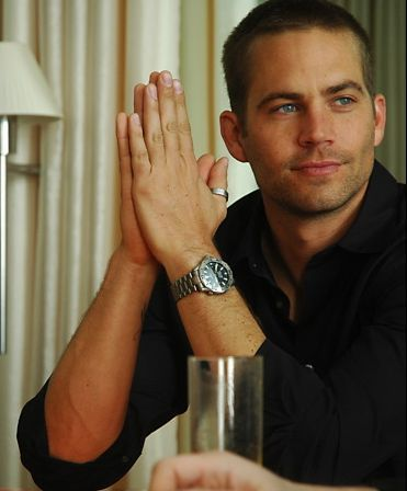 Paul Walker - He's a hottie and I have a thing for men who wear thumb rings!
