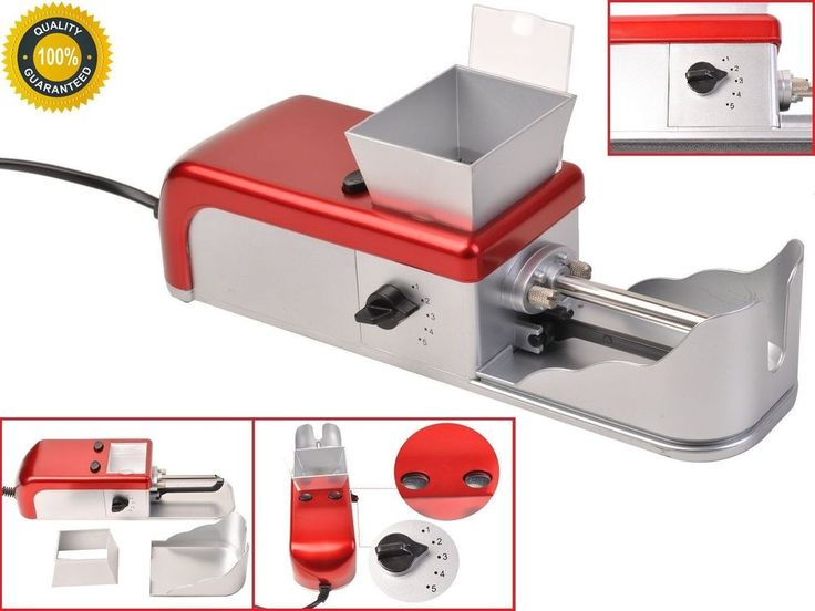 Tobacco Electric Cigarette Rolling Machine Roller Injector Easy Automatic Maker #TobaccoElectricCigaretteRollingMachine